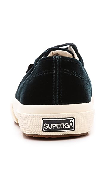 Superga The Man Repeller X Superga Velvet Classic Sneaker