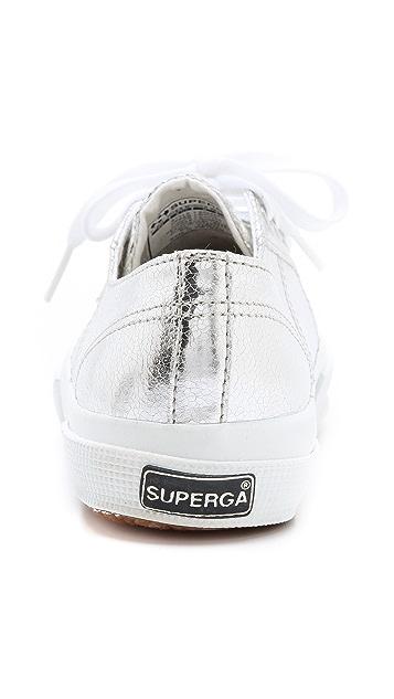 Superga Cotu Metallic Sneakers