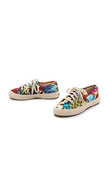 Superga Hawaiian Floral Sneakers