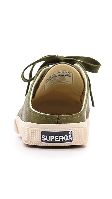 Superga The Man Repeller x Superga Mule Sneakers