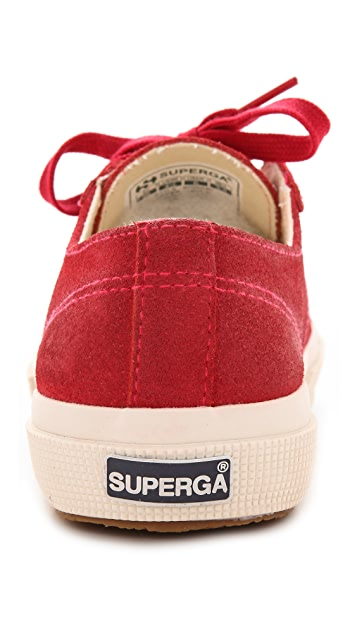 Superga 2750 Waxed Suede Sneakers