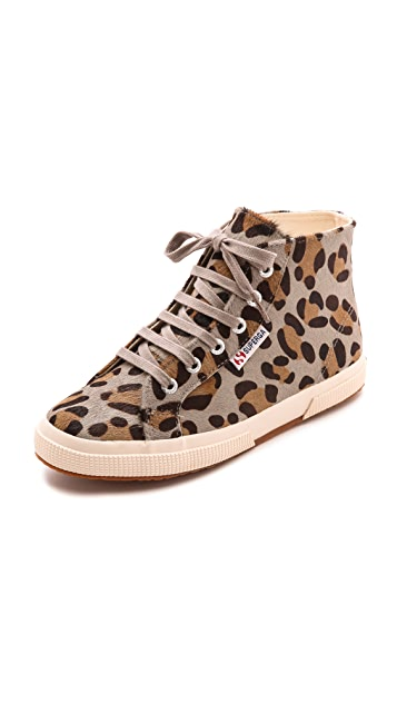 Superga 2095 Haircalf High Top Sneakers