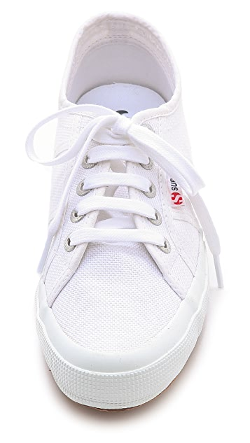 Superga Linen Demi Wedge Sneakers
