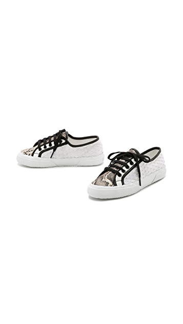 Superga Rodarte x Superga Net Snake Sneakers