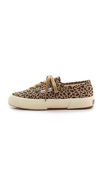 Superga Cotu Leopard Sneakers