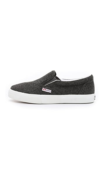 Superga 2311 Wool Slip On Sneakers