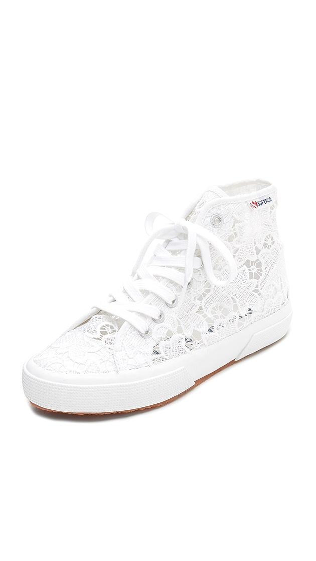 Superga Macrame High Top Sneakers | SHOPBOP