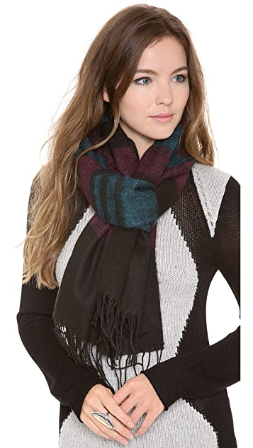 Spun Scarves by Subtle Luxury Portland Stripe Scarf