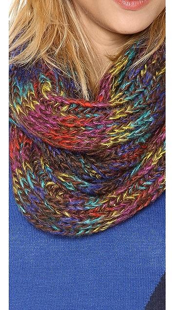 Spun Scarves by Subtle Luxury Chunky Rainbow Scarf