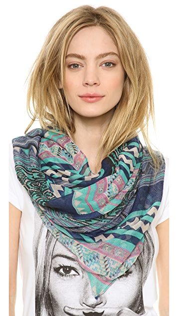 Spun Scarves by Subtle Luxury Striped Scarf