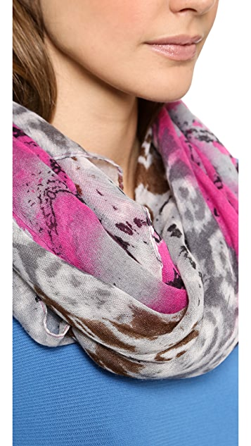Spun Scarves by Subtle Luxury Cave Paintings Scarf