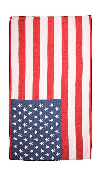 Spun Scarves by Subtle Luxury USA Flag Scarf