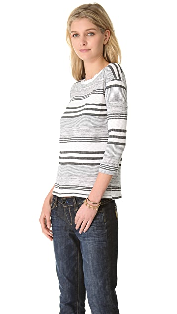 Stateside Boy Stripe Long Sleeve Tee