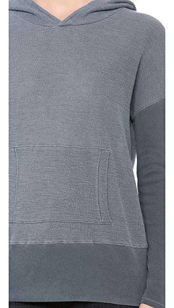 Stateside Thermal Hoodie with Pocket Detail