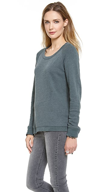 Stateside Heather Terry Long-Sleeved T-Shirt