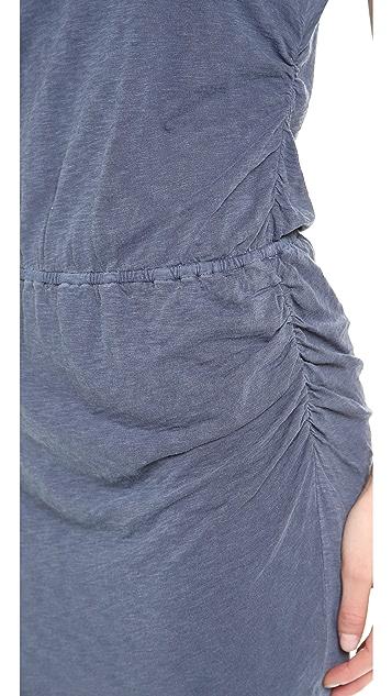 Stateside Twisted Slub Dress