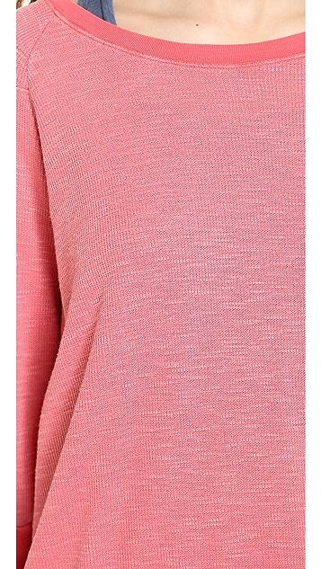 Stateside Slub Thermal Pullover