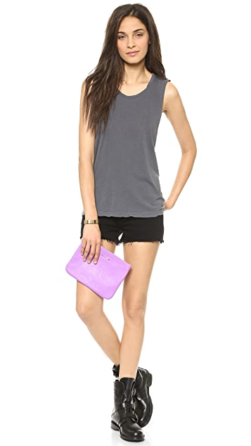 Stateside Cutout Muscle Tee