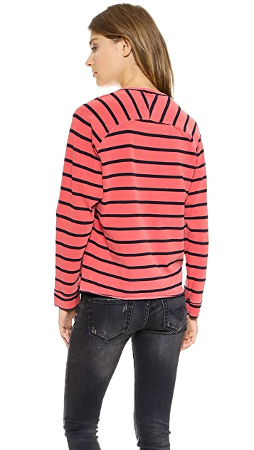 Stateside Striped Pullover