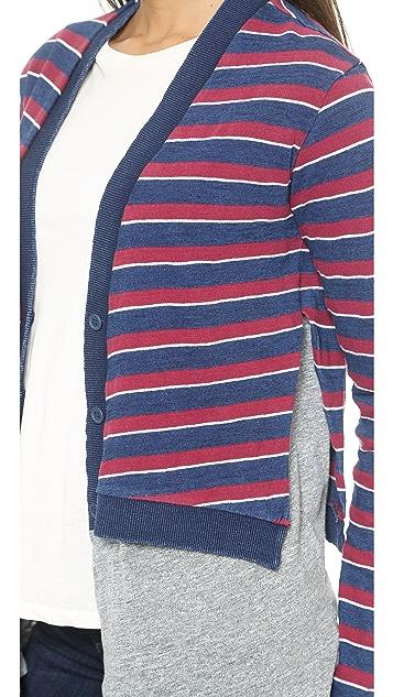 Stateside Indigo Stripe Combo Cardigan