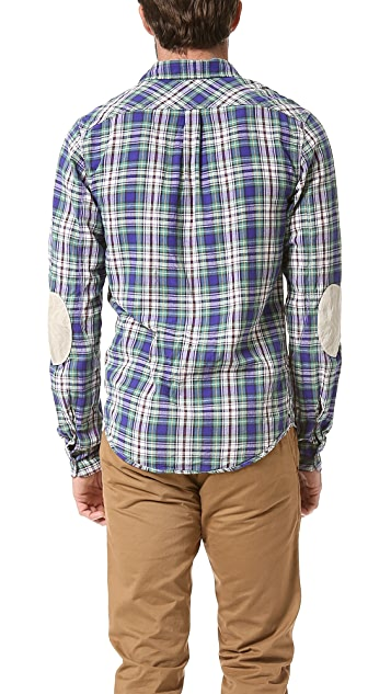 Scotch & Soda Happy Herringbone Shirt