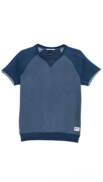 Scotch & Soda Short Sleeve Sweatshirt