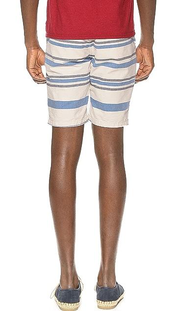 Scotch & Soda Stripe Chino Shorts