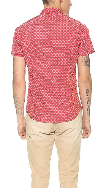 Scotch & Soda Lightweight Print Shirt
