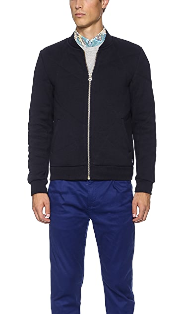 Scotch & Soda Quilted Bomber Jacket