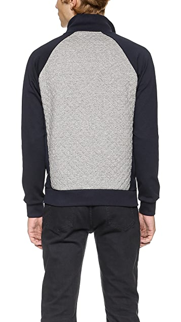 Scotch & Soda Quilted Track Jacket