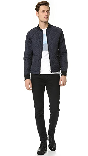 Scotch & Soda Light Padded Quilted Bomber