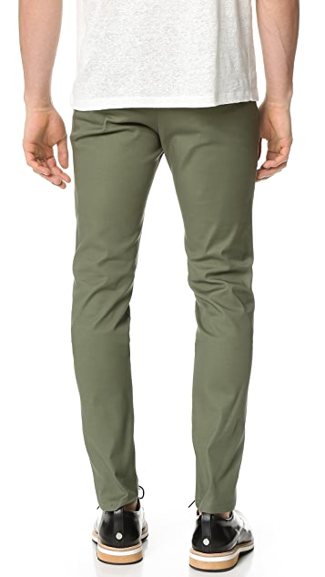 Scotch & Soda Super Slim Tech Zip Chinos