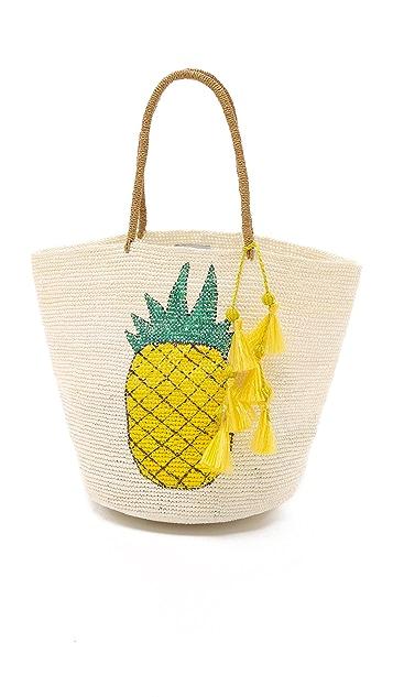 Sensi Studio Pineapple Tote