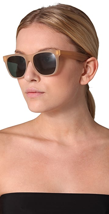 Super Sunglasses Matte Basic Sunglasses