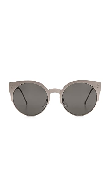 Super Sunglasses Lucia Silber Sunglasses