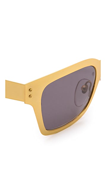 Super Sunglasses America Oro Sunglasses