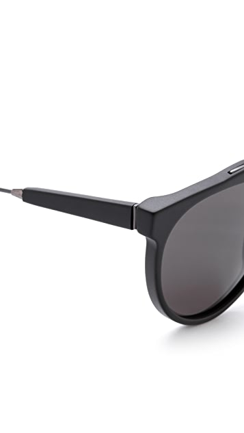 Super Sunglasses Giaguaro Black Matte Sunglasses