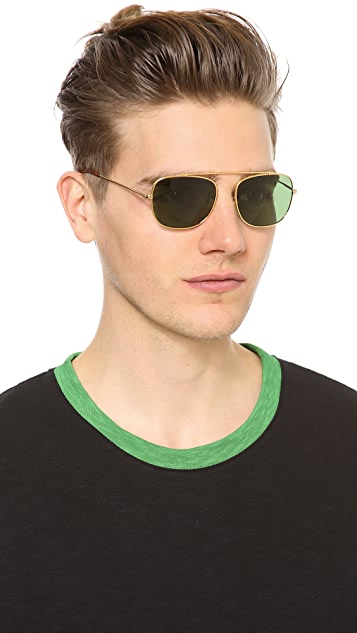 Super Sunglasses Primo Aviator Sunglasses