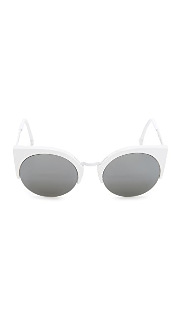 Super Sunglasses Lucia Francis Metric Sunglasses