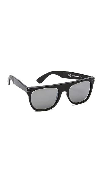 Super Sunglasses Flat Top Triflect Sunglasses