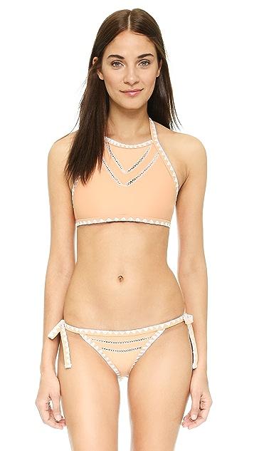 SAME SWIM The It Girl Halter Bikini Top