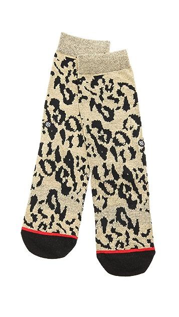 STANCE Everyday Crew Cheetah Socks