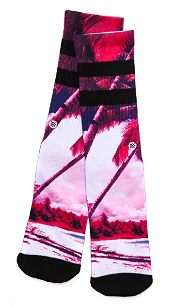 STANCE Athletic Electric Palms Socks