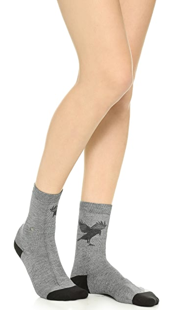 STANCE As the Crow Flies Anklet Socks