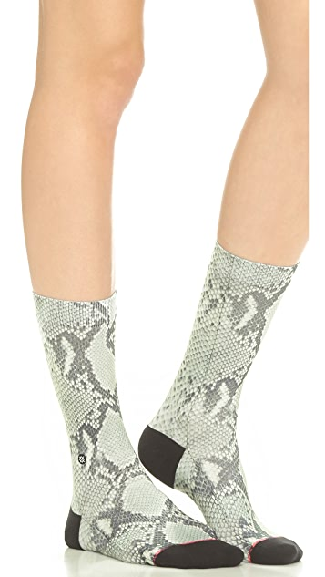STANCE Casual Snakeskin Socks