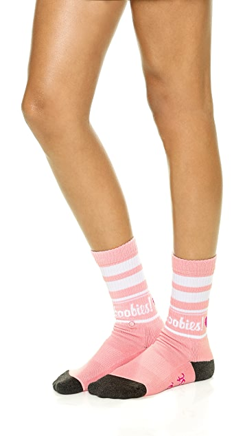 STANCE Keep A Breast Shaney Jo Tomboy Athletic Socks