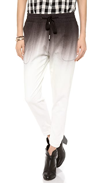 STATEof_ Ombre Dyed Track Pants