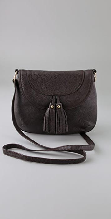 state & lake Mini Messenger with Tassels