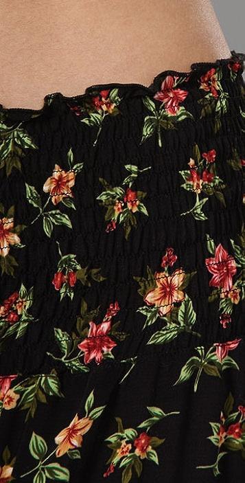 state & lake Long Flutter Skirt