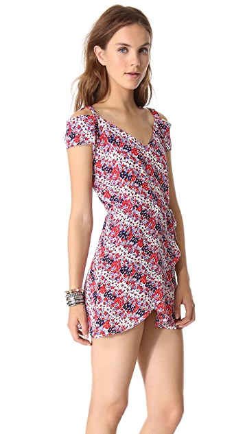 state & lake Open Shoulder Dress